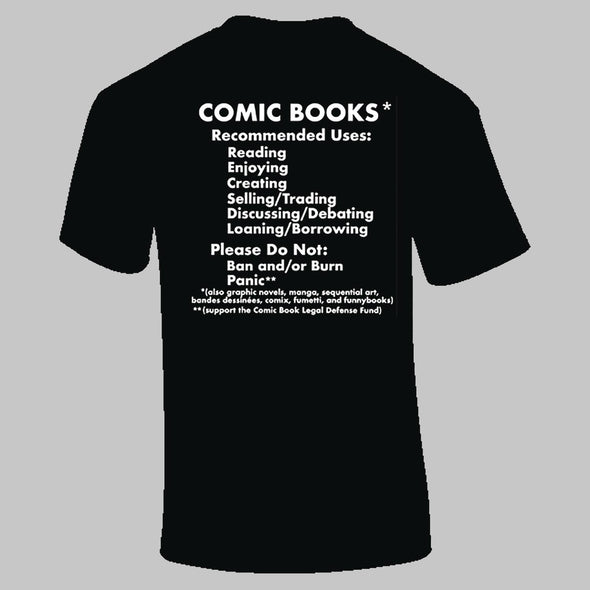 CBLDF Comic Book Uses T-Shirt