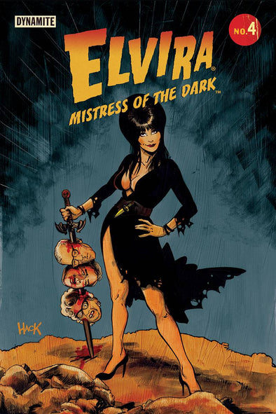 Elvira: Mistress of Dark (2018) #04 (Robert Hack Variant)