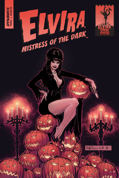 Elvira Mistress of the Dark Spring Special (2018) #01