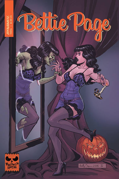Bettie Page Halloween Special (2018) #01