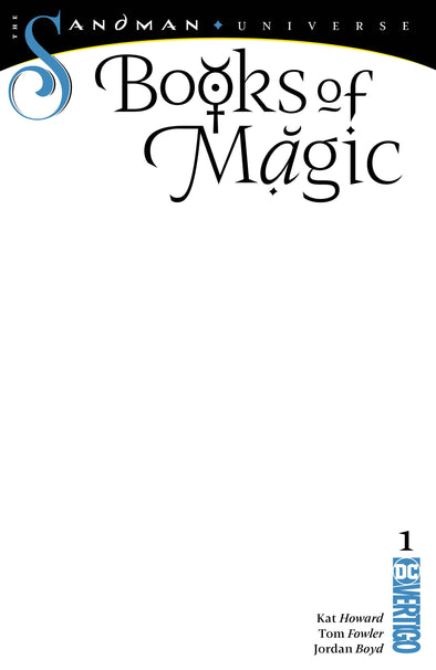 Books of Magic (2018) #01 (Blank Variant)