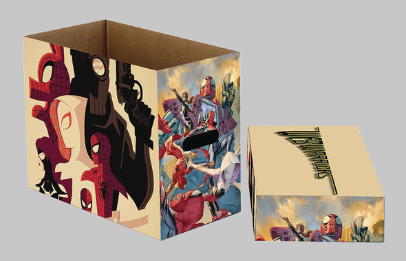 Marvel Web Warriors Short Comic Box
