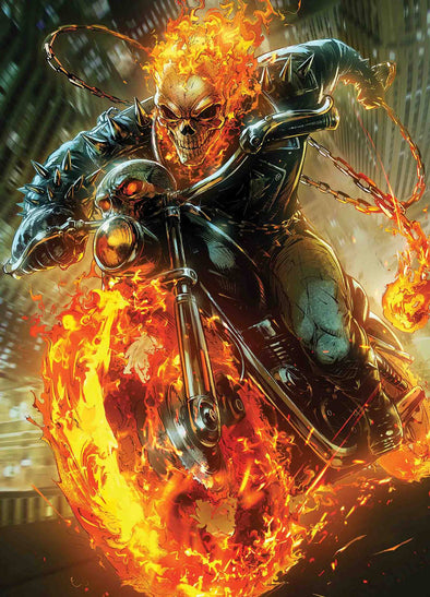 Cosmic Ghost Rider (2018) #04 (Max Lim Marvel Battle Lines Variant)