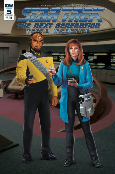 Star Trek TNG: Terra Incognita (2018) #05 (Photo Cover)