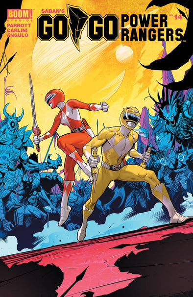 Go Go Power Rangers (2017) #14