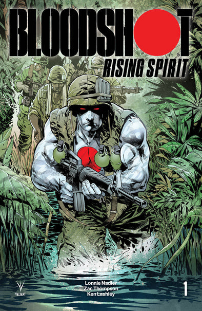 Bloodshot Rising Spirt (2018) #01 (Staz Johnson Variant)
