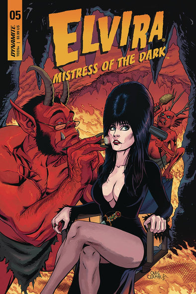 Elvira: Mistress of Dark (2018) #05 (Craig Cermak Variant)