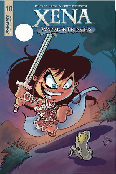 Xena (2018) #10 (Vicente Cifuentes Variant)
