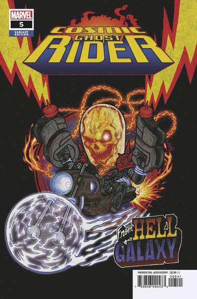 Cosmic Ghost Rider (2018) #05 (Superlog Variant)