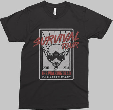 Walking Dead Survival Tour Unisex T-Shirt
