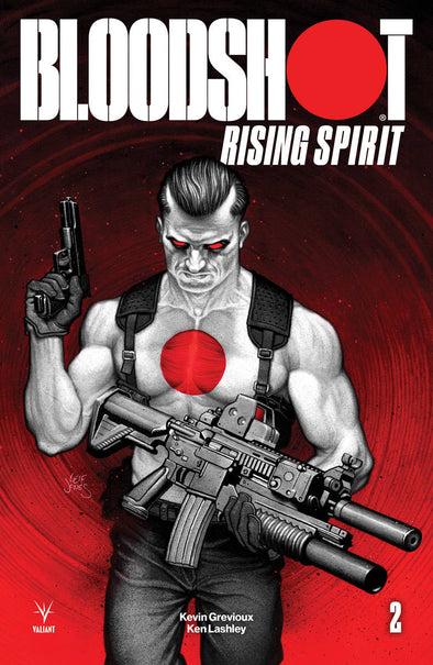Bloodshot Rising Spirt (2018) #02 (Leif Jones Variant)