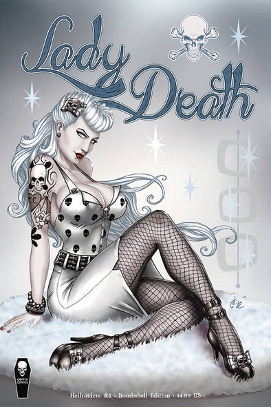 Lady Death Hellraiders (2018) #01 (Bombshells Variant)