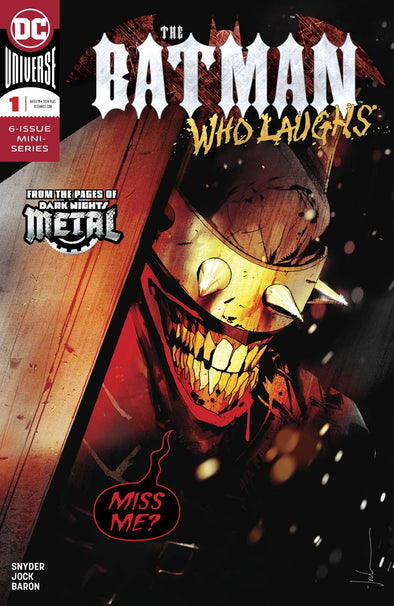 Batman Who Laughs (2018) #01