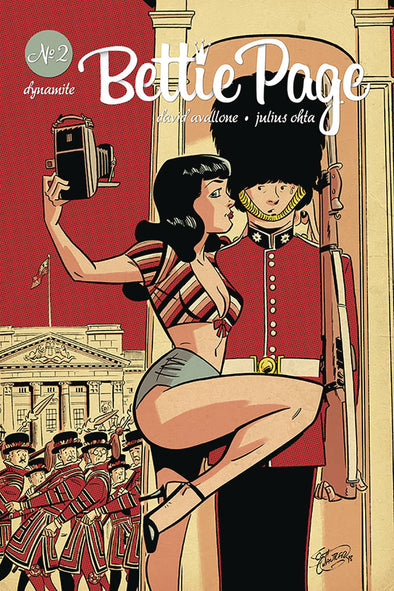 Bettie Page (2018) #02 (Scott Chantler Variant)