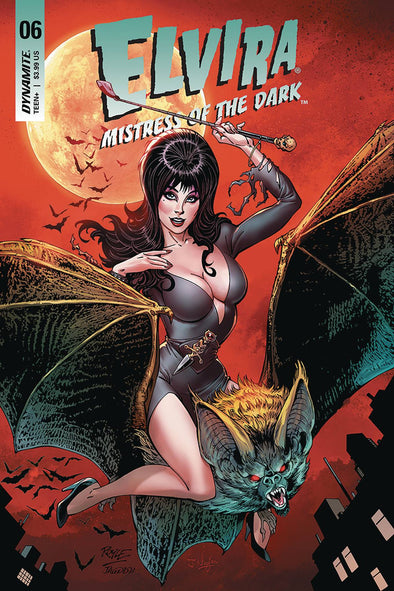 Elvira: Mistress of Dark (2018) #06 (John Royle Variant)