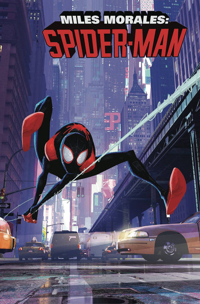 Miles Morales: Spider-Man (2018) #01 (Animation Variant)
