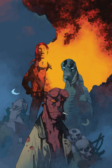 B.P.R.D. Devil You Know #11 (Mike Mignola Variant)