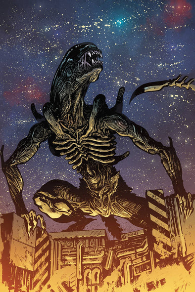 Alien 3 (2018) #03 (William Johnson Variant)