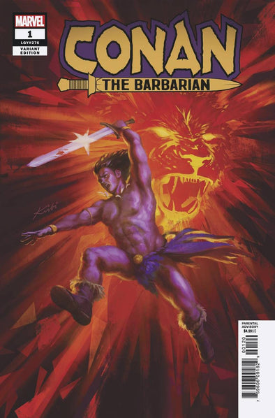 Conan the Barbarian (2019) #01 (Kirbi Fagan Variant)