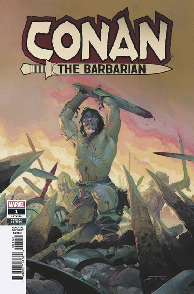 Conan the Barbarian (2019) #01 (Esad Ribic Variant)