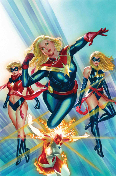 Captain Marvel #01 by Alex Ross Poster
