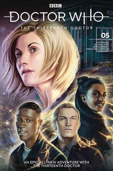 Doctor Who 13th Doctor (2018) #05 (Claudia SG Iannicello Variant)