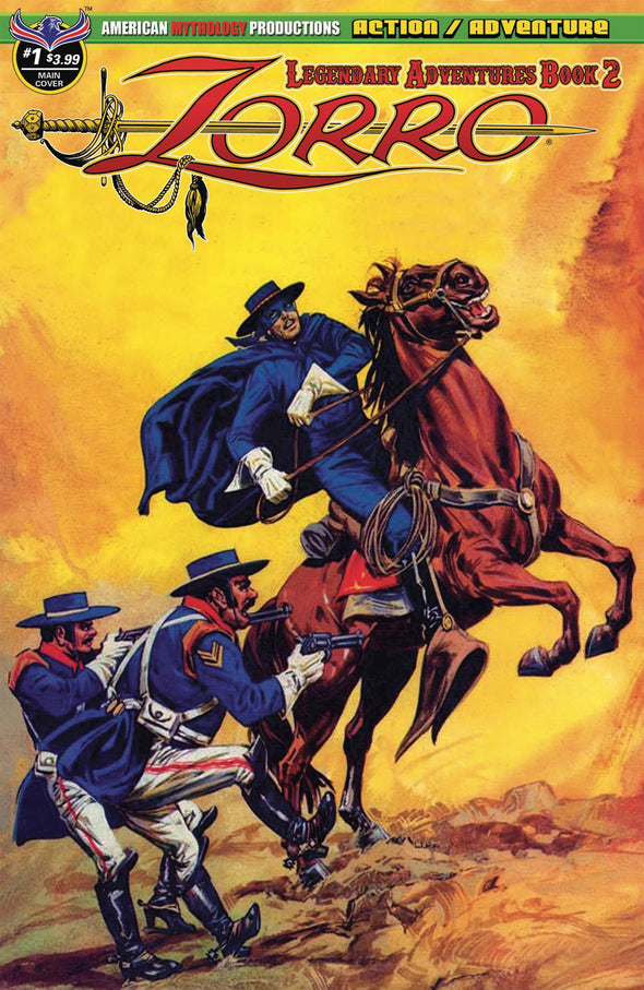 Zorro Legendary Adventures Book 2 #01