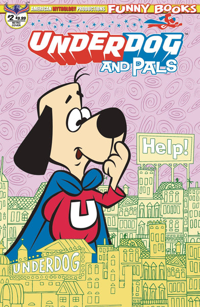Underdog & Pals (2018) #02 Buz Saves the Day (Retro Variant)