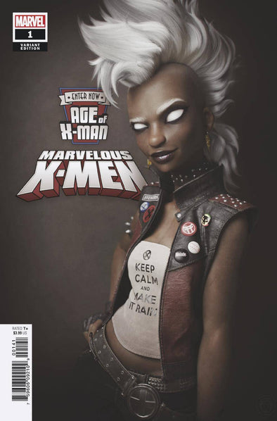 Age of X-Man: Marvellous X-Men (2019) #01 (Victor Hugo Variant)