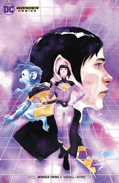 Wonder Twins (2019) #01 (Dustin Nguyen Variant)