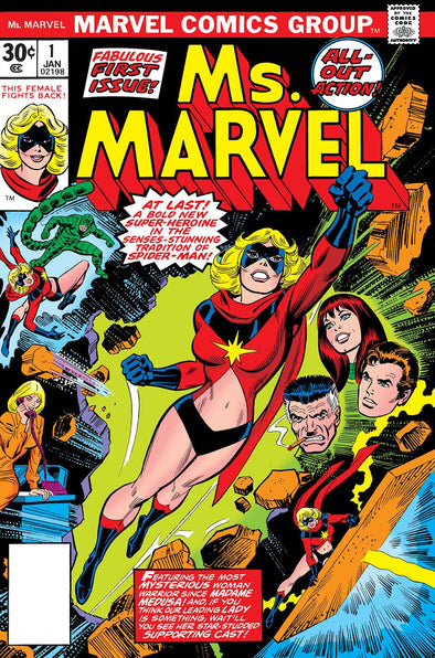 True Believers: Captain Marvel - Ms. Marvel #01