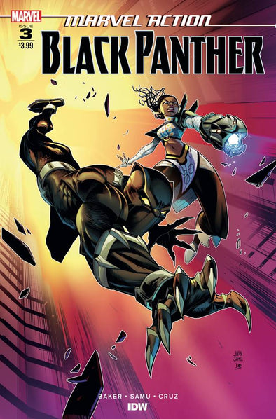 Marvel Action Black Panther (2018) #03
