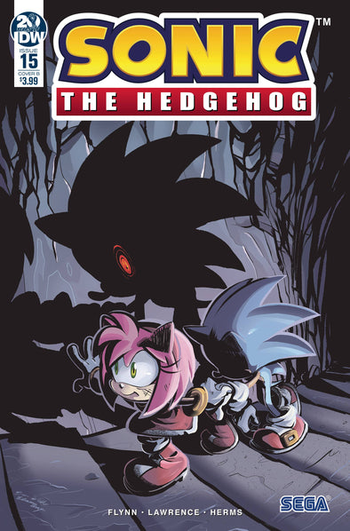 Sonic the Hedgehog (2018) #15 (Diana Skelly Variant)
