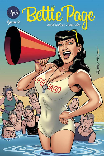 Bettie Page (2018) #05 (David Williams Variant)