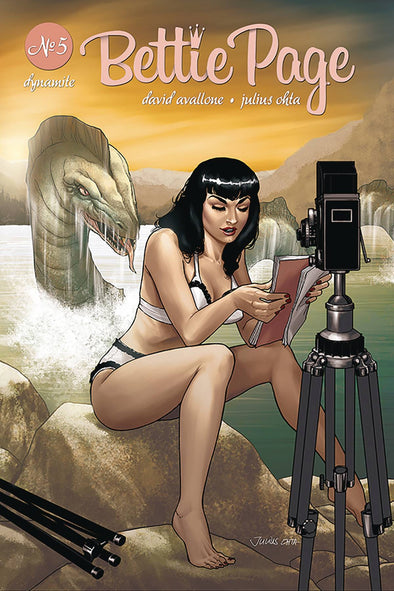 Bettie Page (2018) #05 (Julius Ohta Variant)