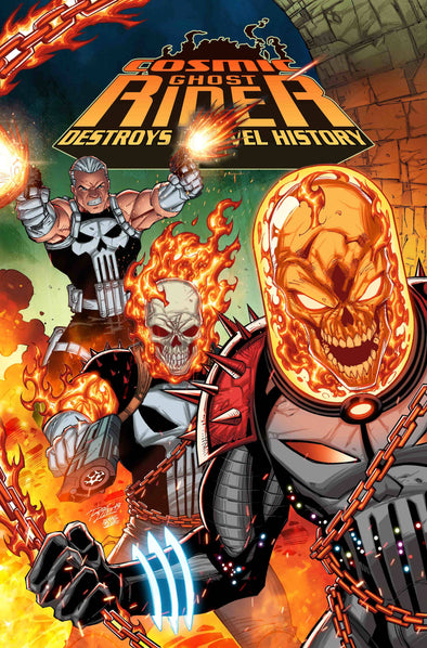 Cosmic Ghost Rider Destroys Marvel History (2019) #01 (Ron Lim Variant)