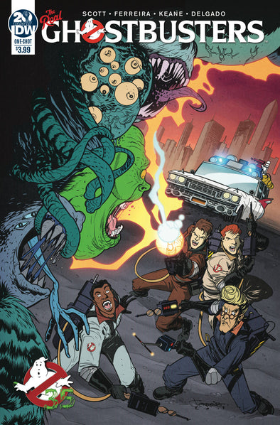 Ghostbusters 35th Anniversary Real Ghostbusters (2019) #01