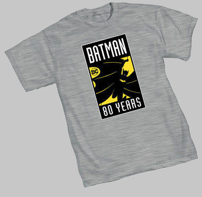 Batman 80TH Logo T-Shirt