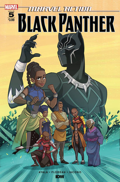 Marvel Action Black Panther (2018) #05