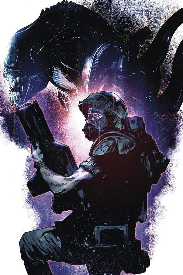 Aliens: Rescue (2019) #01 (Mack Chater Variant)