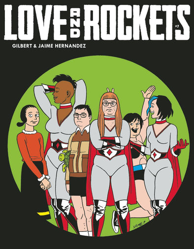 Love & Rockets Magazine #07