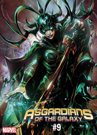 Asgardians of the Galaxy (2018) #09 (Max Lim Battle Lines Variant)