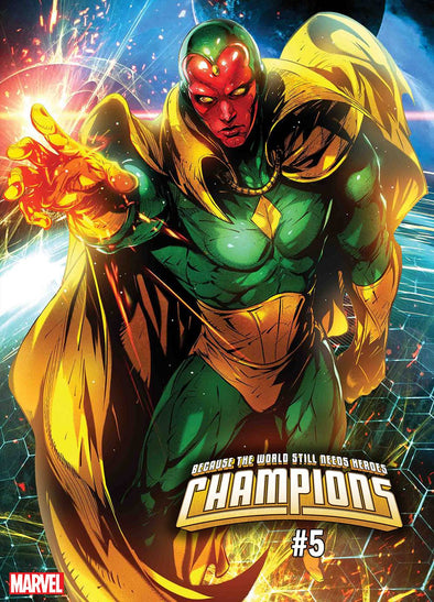 Champions (2019) #05 (Max Lim Battle Lines Variant)