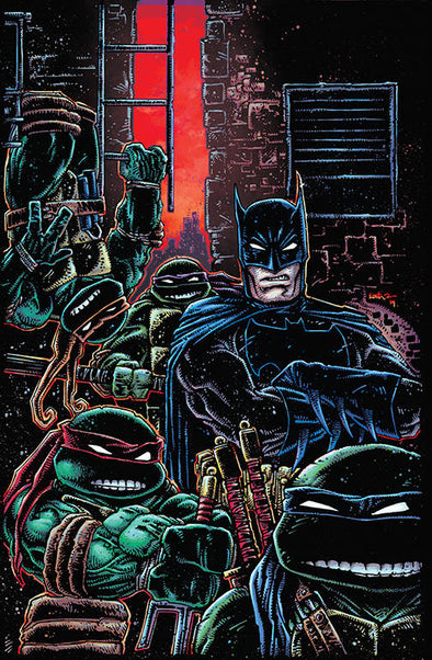 Batman/Teenage Mutant Ninja Turtles III (2019) #01 (Kevin Eastman Variant)