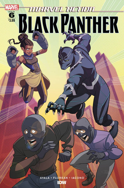 Marvel Action Black Panther (2018) #06