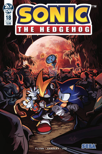 Sonic the Hedgehog (2018) #18 (Diana Skelly Variant)