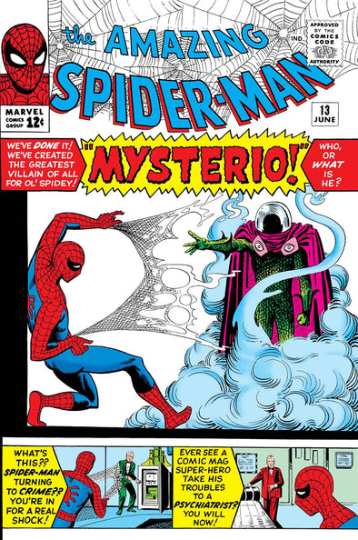 True Believers: Spider-Man vs Mysterio #01