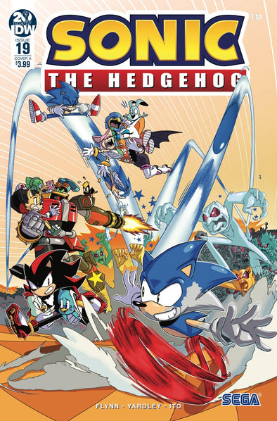 Sonic the Hedgehog (2018) #19