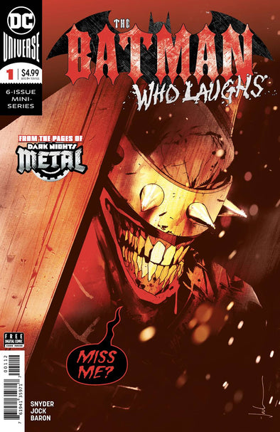 Batman Who Laughs (2018) #01 (Final Printing)