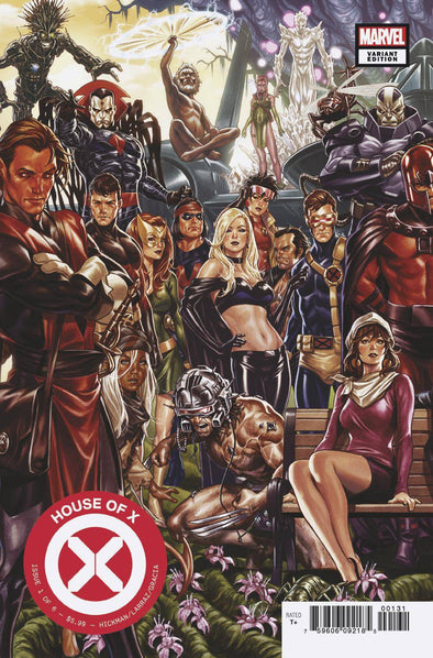 House of X (2019) #01 (Mark Brooks Connecting Variant)